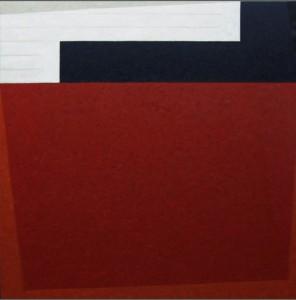 Lied, olio su tavola, cm 110 x 110, 2006