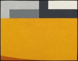 Coro, olio su tavola, cm 49 x 60, 2008