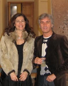 Beatrice Buscaroli curatrice della mostra di Enzo Rovella al Monastero dei Benedettini