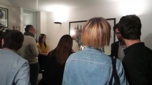 iaugurazione della mostra Miramorphoses di Valentina Mir - aprile 2015