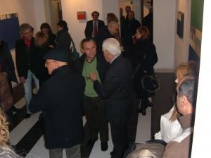 inaugurazione della mostra di Anastasio (12/8)
