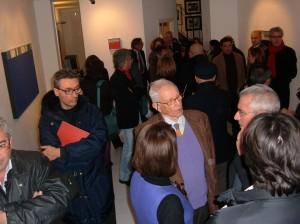 Inaugurazione della mostra di Anastasio (12/08)