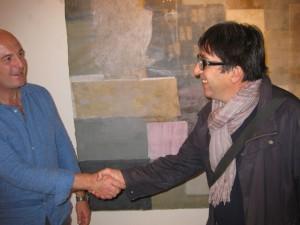 """Ciacciofera con  Nico Libra alla mostra """"Odio gli indifferenti"""" (11/2015)"""