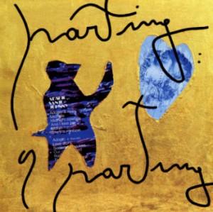 Parting a parting, foglia d'oro su tela, cm 50 x50, 2007