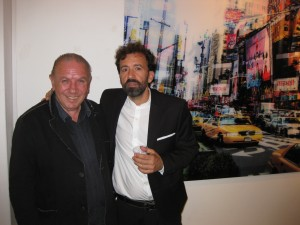 """Bramante con Antonio Presti alla mostra """"Everywhere is me"""" (28/10/2016)"""