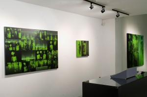 scorcio della mostra Night Vision di Enzo Rovella - marzo 2015