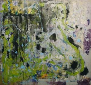 Senza titolo, olio su tela, cm 150 x160, 2006