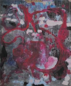 Senza titolo, olio su tela, cm 170 x 140, 2006
