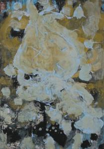 Senza titolo, olio su tela, cm 100 x70, 2007