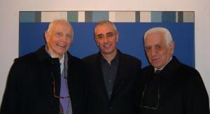 Enrico Crispolti, Gianfranco Anastasio e Lucio Barbera