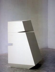 Tuttocittà, legno, cm 101x60x59,5, 2009