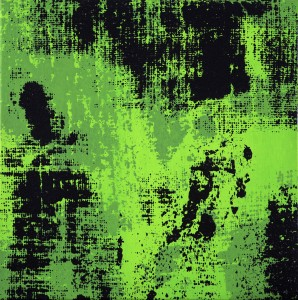 Night Vision, acrilico su tela, cm 30x40, 2014